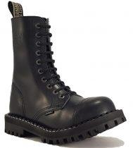 Steel - 10 soros fekete bakancs