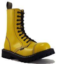 Steel - 10 soros full sárga bakancs