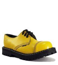 Steel - 3 soros full sárga bakancs