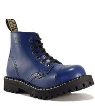 Steel - 6 soros full kék bakancs