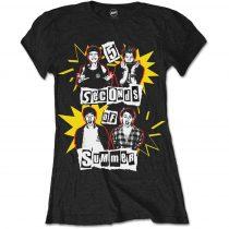 5 Seconds of Summer - Punk Pop Photo női póló