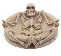 Csontvázas hamutartó