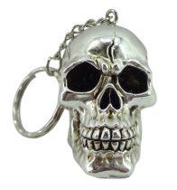 Skull silver kulcstartó