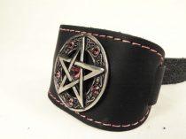 Pentagram karkötő Swarovski kristályokkal