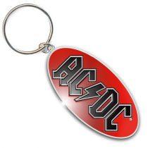 AC/DC - Logo fém kulcstartó