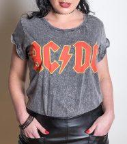 AC/DC - Classic Logo női póló