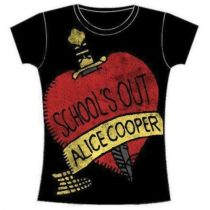 Alice Cooper - School's Out női póló