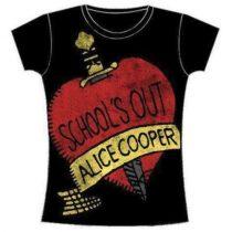 Alice Cooper - School's Out női póló