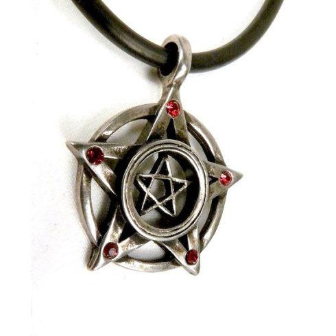 Dupla pentagram nyaklánc