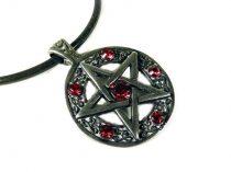 Pentagram nyaklánc