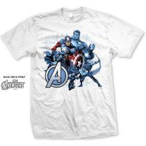 Marvel Group Assemble póló