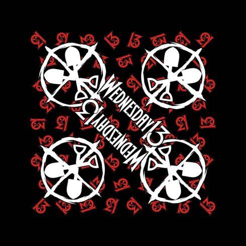 Wednesday 13 - Logo Shovels kendő