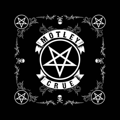 Motley Crue - Pentagram kendő