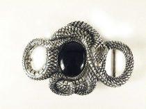 Tekeredő kígyó övcsat