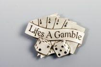 Lifes a Gamble övcsat