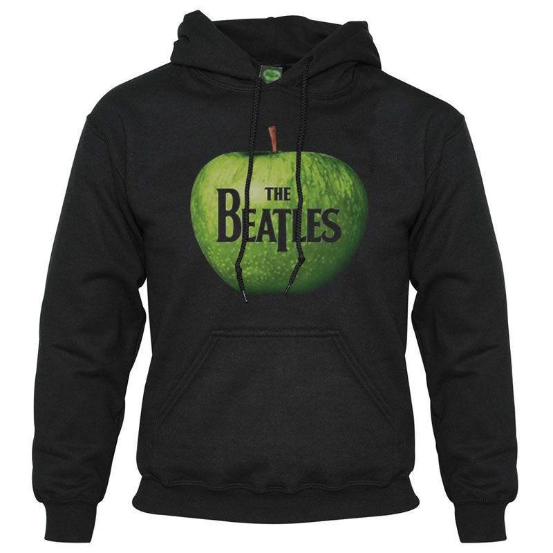 ed4f350beb The Beatles - Apple Black pulóver - RockStore.hu - Rockzenei ...