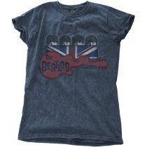 The Beatles - Guitar & Flag női póló
