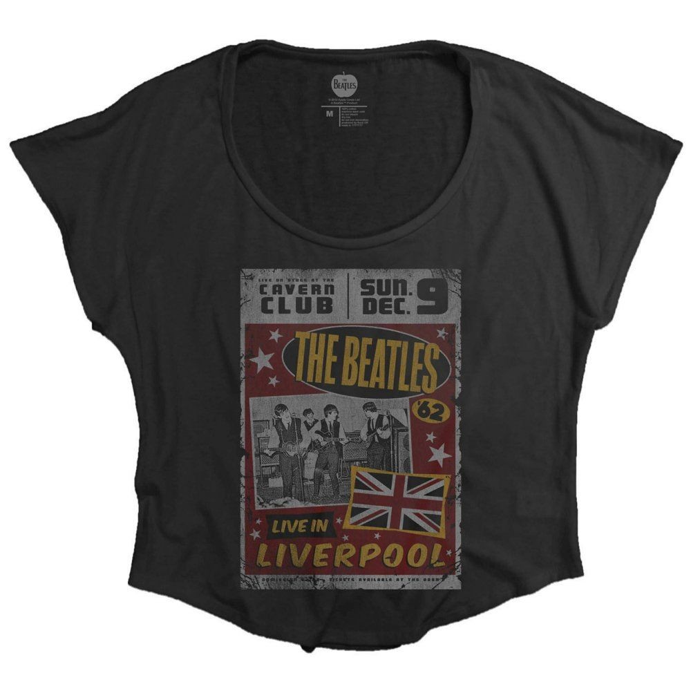 The Beatles - Live in England női póló - RockStore.hu - Rockzenei ... ae8fb9c73c