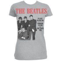The Beatles - Please Please Me női póló