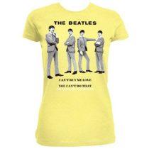 The Beatles - You Can't Do That női póló