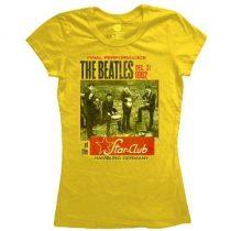 The Beatles - Star Club, Hamburg női póló