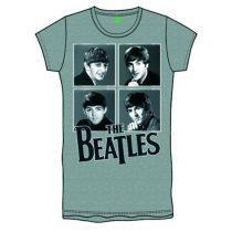 The Beatles - Framed Faces női póló