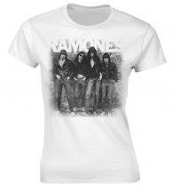Ramones - FIRST ALBUM FADED női póló