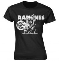 Ramones - GABBA GABBA HEY CARTOON női póló