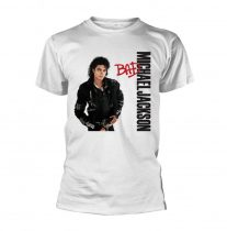 Michael Jackson - BAD (WHITE) póló