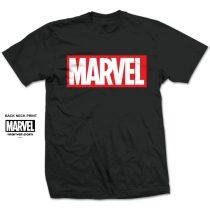 Marvel Comics - Marvel Box Logo póló