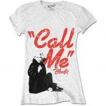 Blondie - Call Me női póló