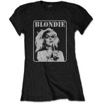 Blondie - Presente Poster női póló
