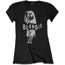 Blondie - Mic. Stand női póló