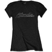 Blondie - Logo (Diamante) női póló
