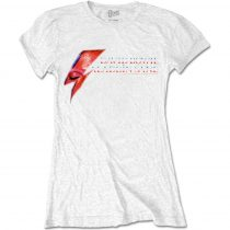 David Bowie - Aladdin Sane Eye Flash női póló