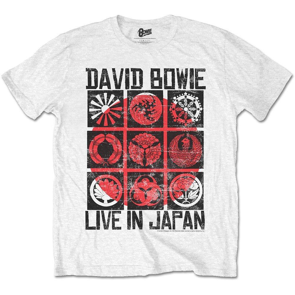 David Bowie - Live in Japan White póló - RockStore.hu - Rockzenei ... c2b780c4ef