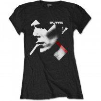 David Bowie - X Smoke Red női póló
