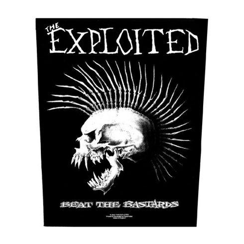 The Exploited - Beat The Bastards hátfelvarró