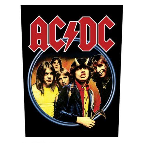 AC/DC - Highway To Hell hátfelvarró