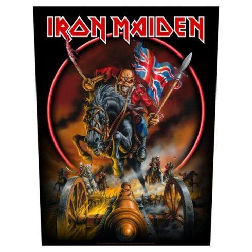 Iron Maiden - Maiden England hátfelvarró