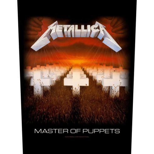 Metallica - Master Of Puppets hátfelvarró