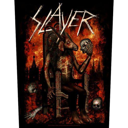 Slayer - Devil On Throne hátfelvarró