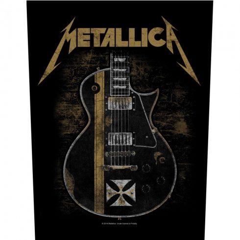 Metallica - Hetfield Guitar hátfelvarró