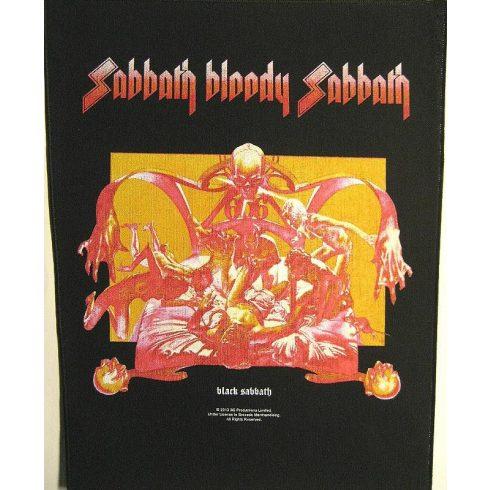 Black Sabbath - Sabbath Bloody Sabbath hátfelvarró