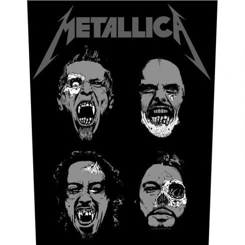Metallica - Undead hátfelvarró