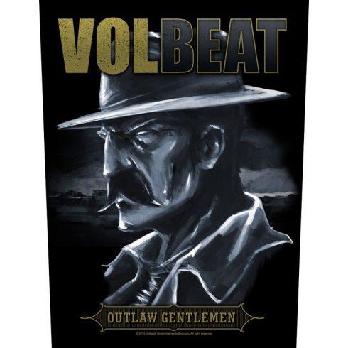Volbeat - Outlaw Gentlemen hátfelvarró