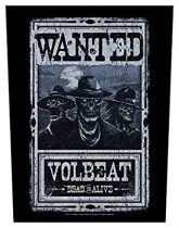 Volbeat - Wanted hátfelvarró
