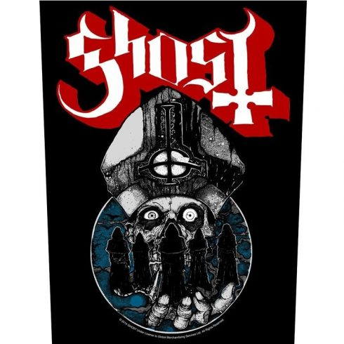 Ghost - Papa Warriors hátfelvarró