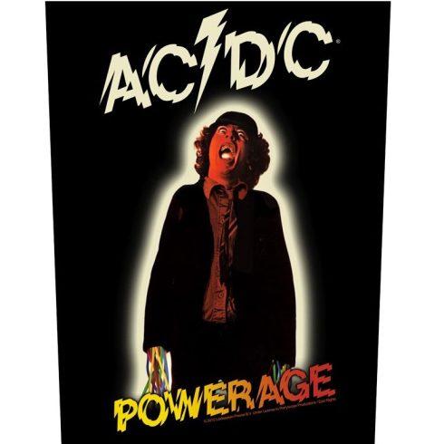 AC/DC - Powerage hátfelvarró