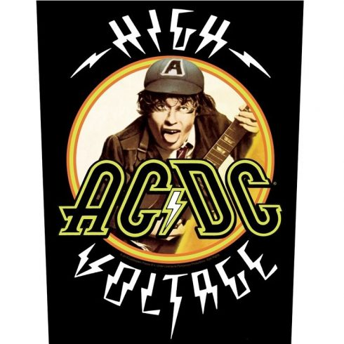 AC/DC - High Voltage hátfelvarró